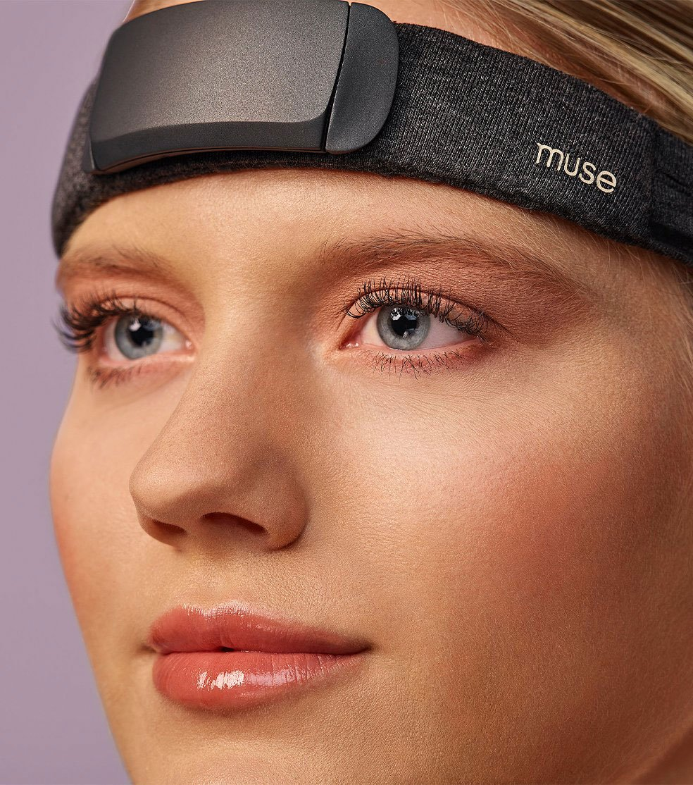 Muse brainwave scanner for meditation, trauma, anxiety and stress therapy.